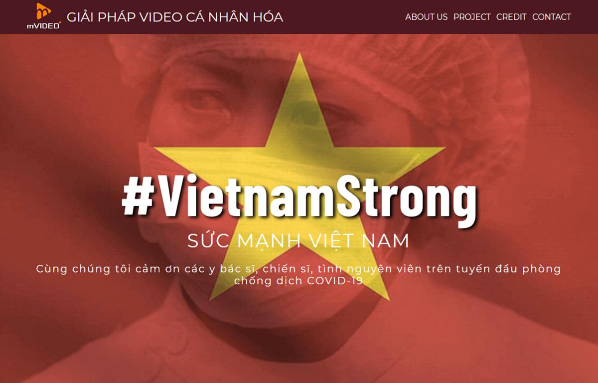 """Chiến dịch """"Việt Nam mạnh mẽ"""" với hashtag #VietnamStrong (6/4/2020)"""