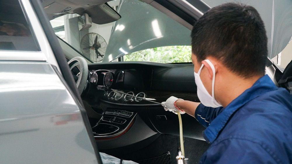 Lưu ý vệ sinh hệ thống điều hòa ô tô (29/4/2020)