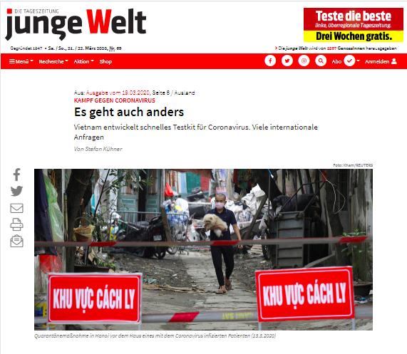 Báo chí quốc tế lý giải thành công của Việt Nam trong cuộc chiến chống Covid-19 (20/4/2020)
