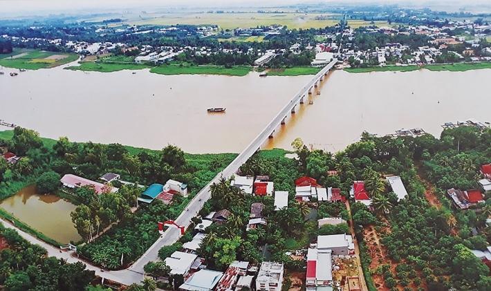 Huyện Chợ Mới, tỉnh An Giang thay da đổi thịt sau 45 năm giải phóng (29/4/2020)