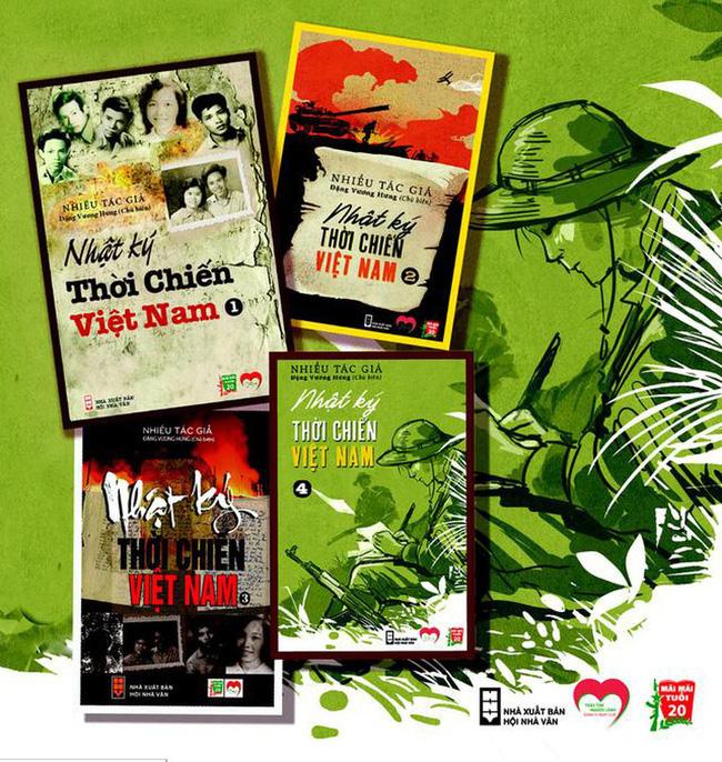 """Cuốn sách """"Nhật ký thời chiến Việt Nam"""" (22/4/2020)"""