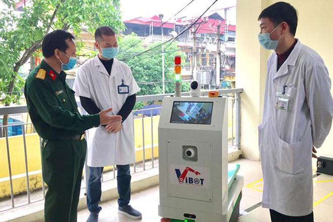 Tăng hiệu quả phòng, chống dịch bệnh từ việc sử dụng robot (11/4/2020)