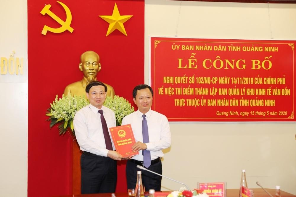THỜI SỰ 12H TRƯA 16/5/2020: Ban quản lý Khu kinh tế Vân Đồn, Quảng Ninh - một trong 3 Khu kinh tế đặc biệt của cả nước chính thức ra mắt.