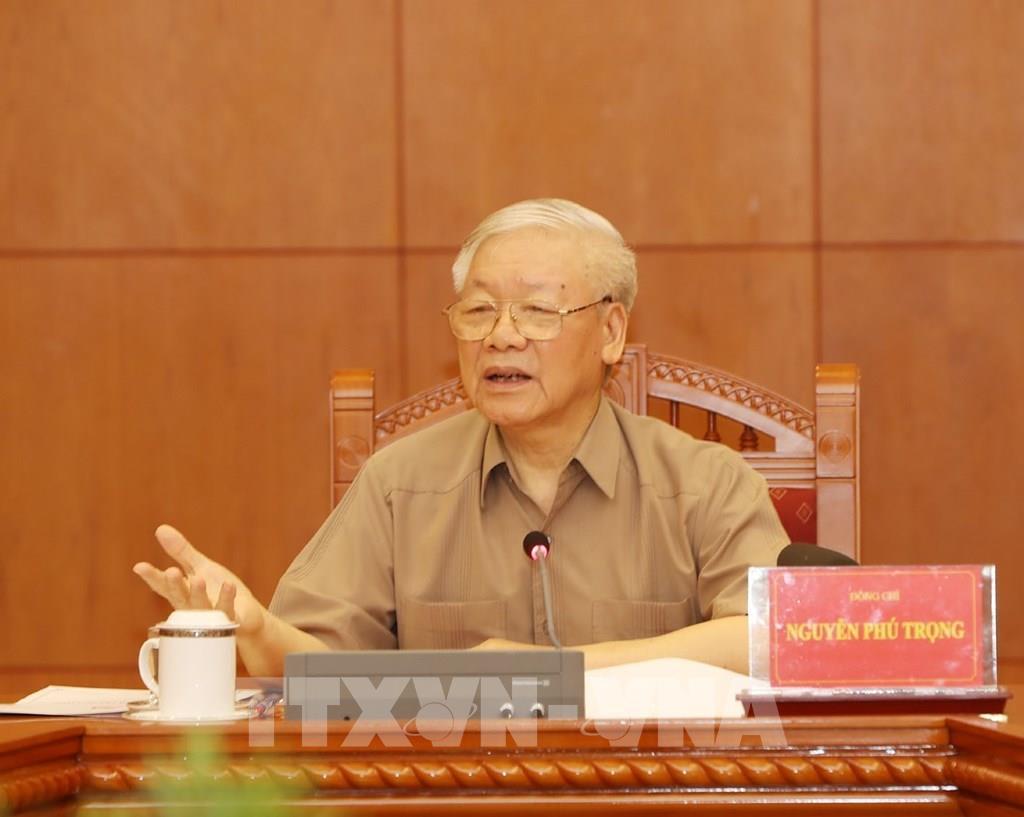 THỜI SỰ 12H TRƯA 26/5/2020: Tổng Bí thư, Chủ tịch nước Nguyễn Phú Trọng chủ trì họp Thường trực Ban chỉ đạo Trung ương về phòng chống tham nhũng.