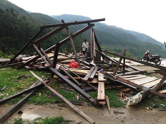 THỜI SỰ 21H30 ĐÊM 9/5/2020: Mưa lớn và dông lốc gây thiệt hại nặng tại nhiều tỉnh miền núi phía Bắc.