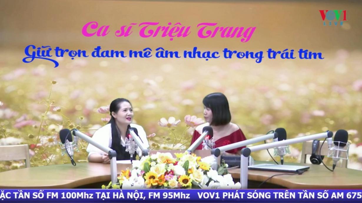 Ca sĩ Triệu Trang: Giữ trọn đam mê âm nhạc trong trái tim (1/8/2020)