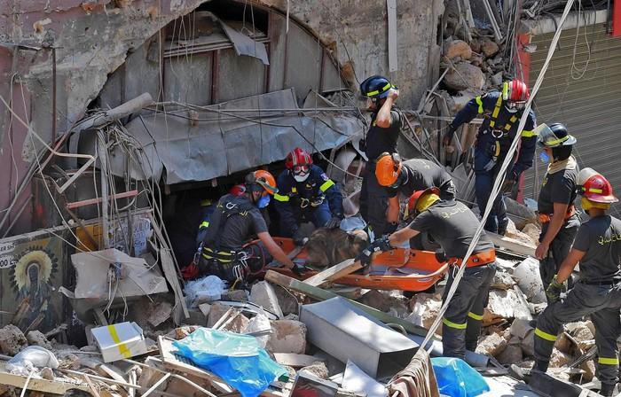 Cộng đồng quốc tế nỗ lực hỗ trợ lương thực cho Liban sau vụ nổ kinh hoàng (12/8/2020)