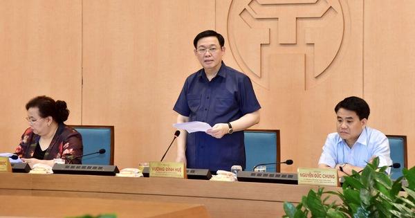 Bí thư Hà Nội: Địa bàn có F1, F2 mà không biết, người đứng đầu phải chịu trách nhiệm (6/8/2020)