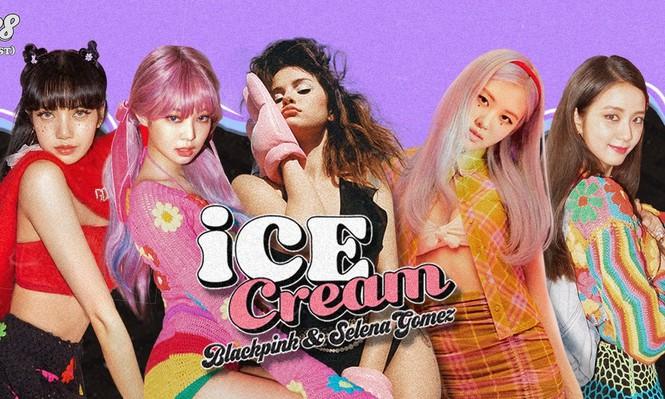 Sự kết hợp ngọt ngào của BlackPink và Selena Gomez trong album