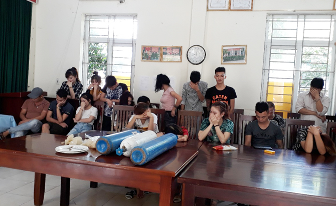 Vĩnh Phúc: Cảnh báo sử dụng ma túy tập thể trong giới trẻ (17/8/2020)