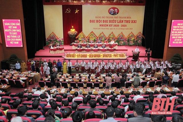 Thanh Hóa nhanh chóng đưa Nghị quyết Đại hội Đảng bộ cấp trên cơ sở vào cuộc sống. (29/09/2020)