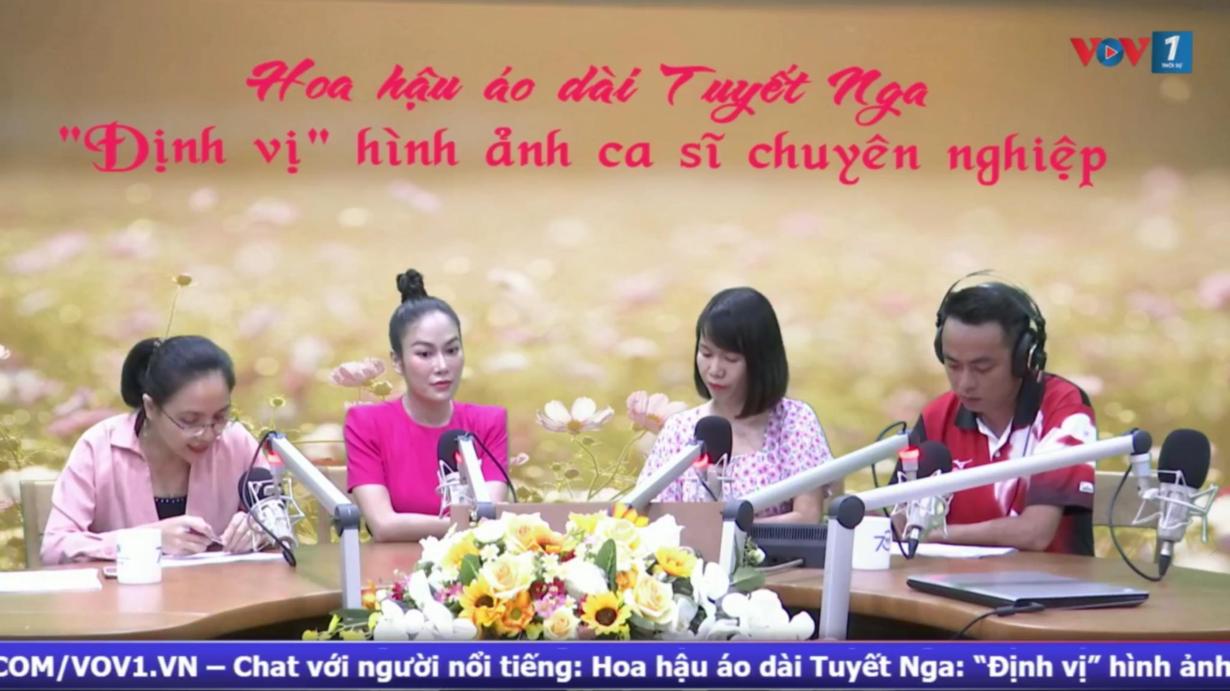 Chat với hoa hậu-ca sĩ Tuyết Nga, một hoa hậu áo dài muốn định vị hình ảnh là một ca sĩ chuyên nghiệp! (19/9/2020)