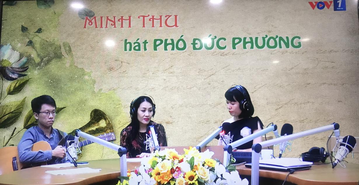 """Ca sĩ Minh Thu – """"người tình"""" trong âm nhạc của Phó Đức Phương (26/9/2020)"""