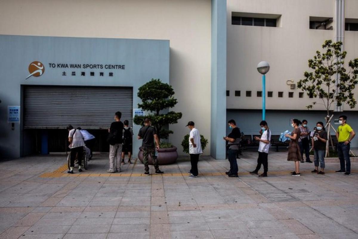 Hồng Kông, Trung Quốc: 1,6 triệu dân đã tham gia xét nghiệm Covid-19 (13/9/2020)