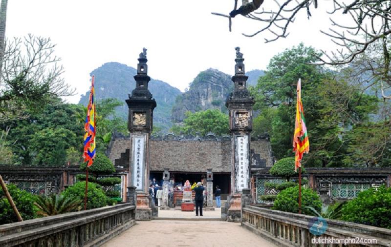 Đền thờ Vua Lê Đại Hành - một di tích có tầm quan trọng đặc biệt của quần thể di sản cố đô Hoa Lư (26/9/2020)