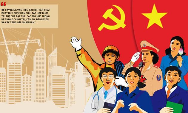Văn kiện Đại hội Đảng - Kết tinh trí tuệ và khát vọng của dân tộc (23/9/2020)
