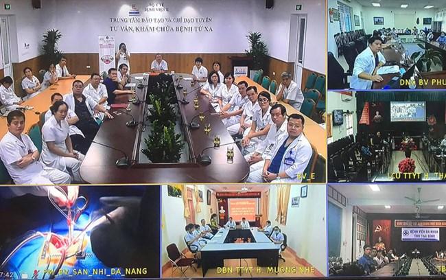 Ứng dụng công nghệ số trong công tác khám chữa bệnh (3/1/2021)