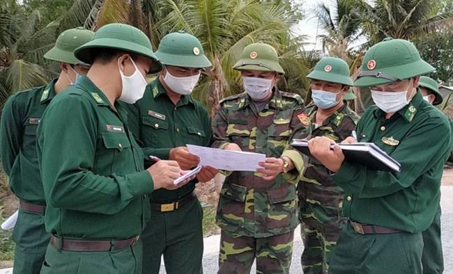 Bộ đội Biên phòng Sóc Trăng tích cực nơi tuyến đầu chống dịch Covid-19 (02/01/2020)
