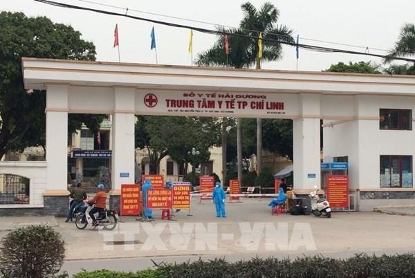 Các tài xế hỗ trợ vận chuyển thiết bị, nhu yếu phẩm ở Chí Linh – Hải Dương (4/2/2021)