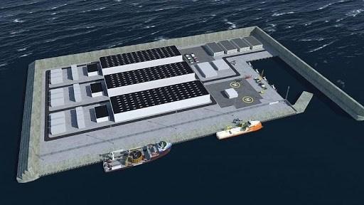 Đan Mạch: Xây đảo nhân tạo để khai thác năng lượng gió (18/02/2021)