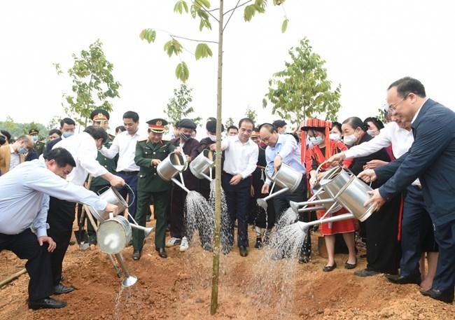 THỜI SỰ 18H CHIỀU 23/2/2021: Lễ phát động Chương trình trồng 1 tỷ cây xanh