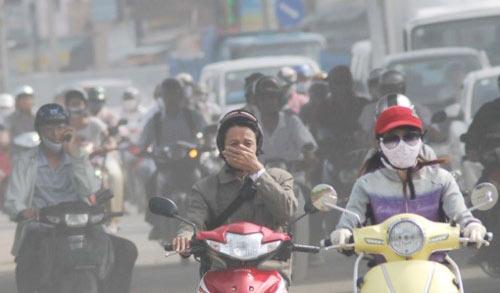 Ô nhiễm không khí ở Hà Nội vượt tầm kiểm soát. (11/3/2016)