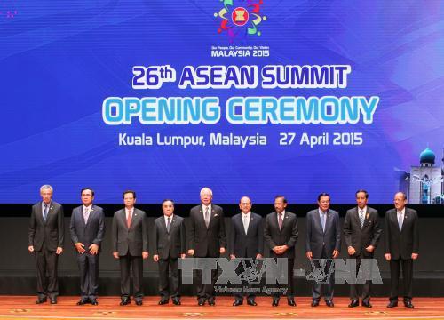 Thời sự sáng ngày 27/4/2015: Hôm nay, Hội nghị cấp cao ASEAN 26 chính thức khai mạc tại Trung tâm Hội nghị quốc tế Kuala Lumpur, Malaysia