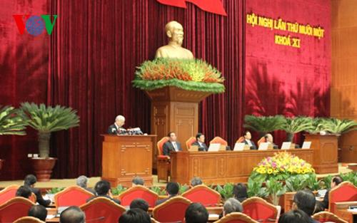 Thời sự chiều ngày 05/5/2015: Ngày làm việc thứ 2 Hội nghị lần thứ 11 Ban Chấp hành Trung ương Đảng tiếp tục bàn về công tác nhân sự Ban Chấp hành Trung ương Đảng Khóa 12