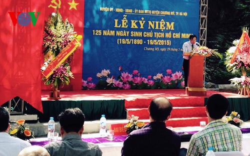 Thời sự trưa ngày 19/5/2015: Các hoạt động thiết thực kỷ niệm lần thứ 125 ngày sinh Chủ tịch Hồ Chí Minh trên cả nước và cộng đồng người Việt Nam ở nước ngoài