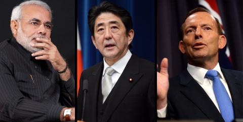 Liệu có hình thành liên minh Ấn-Nhật-Australia trong tương lai