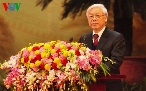 Phát biểu của Tổng Bí thư Nguyễn Phú Trọng tại Lễ kỷ niệm 85 năm ngày thành lập Đảng