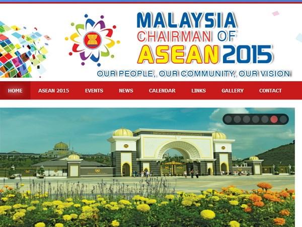 Ngôi nhà ASEAN ngày 24/12/2014: Malaysia khai trương trang web cho Hội nghị Cấp cao ASEAN.