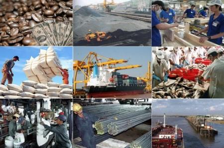 Trong số 30 nền kinh tế xuất nhập khẩu hàng đầu của WTO, Việt Nam là quốc gia duy nhất đạt mức tăng trưởng xuất nhập khẩu ấn tượng trong năm qua. (Thời sự trưa 9/4/2016)
