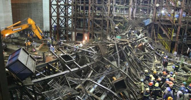 Hôm nay, Tòa án nhân dân tỉnh Hà Tĩnh xét xử lại vụ sập giàn giáo ở Khu kinh tế Formosa làm 13 người chết và 29 người bị thương. (Thời sự sáng 16/12/2015)