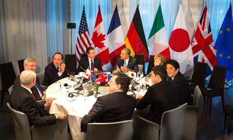 Hội nghị G7 phản đối hành động khiêu khích ở Biển Đông. (12/4/2016)