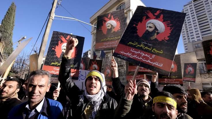 """Syria """"vạ lây"""" bởi căng thẳng Iran - Arab Saudi. (06/01/2016)"""