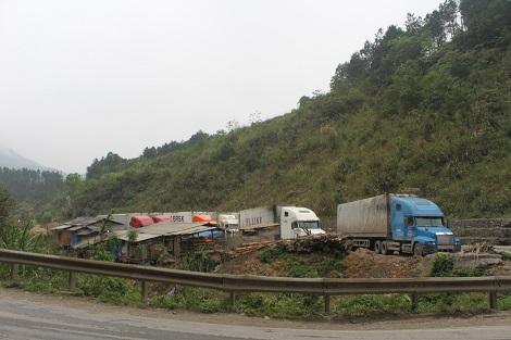 Cao Bằng xe quá tải vẫn hoành hành (Pháp luật và đời sống ngày 22/7/2015)