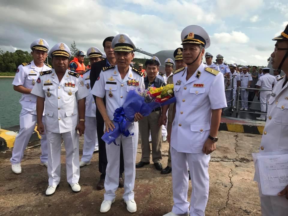 Tuần tra chung giữa vùng 5 Hải quân Việt Nam và Căn cứ biển Hoàng gia Campuchia góp phần ổn định an ninh vùng biển (6/12/2017)