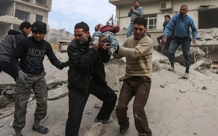 Hội đồng Bảo an Liên hợp quốc họp khẩn nhưng không nhất trí được lệnh ngừng bắn cho Syria (23/2/2018)