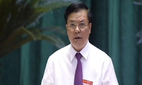 Thời sự đêm ngày 10/6/2014: Bộ trưởng Bộ Tài chính trả lời chất vấn Đại biểu Quốc hội về cơ chế quản lý giá xăng dầu, giá điện, quản lý  nợ công