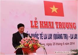 Bạn bè với Việt Nam ngày 07/8/2014: Cửa khẩu quốc tế La Lay mở ra nhiều cơ hội hợp tác đầu tư mới giữa Việt Nam và Lào
