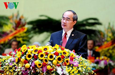 Thời sự trưa ngày 26/9/2014: Đại hội đại biểu toàn quốc Mặt trận tổ quốc Việt Nam lần thứ 8 khai mạc trọng thể sáng nay tại Hà Nội