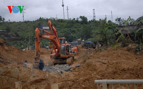 Thời sự đêm ngày 21/9/2014: Tỉnh Lai Châu tập trung khắc phục sự cố sạt lở núi