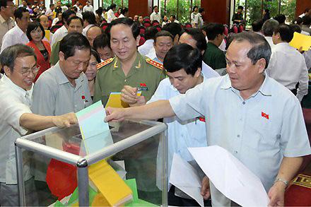 Quốc hội với cử tri ngày 15/10/2014: Lấy phiếu tín nhiệm để nâng cao tinh thần trách nhiệm của đại biểu Quốc Hội