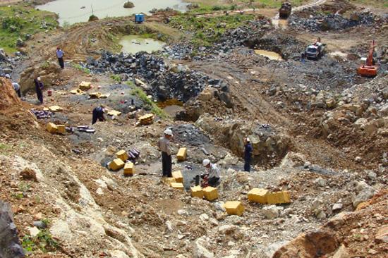 Siết chặt công tác quản lý khai thác khoáng sản ở nước ta hiện nay