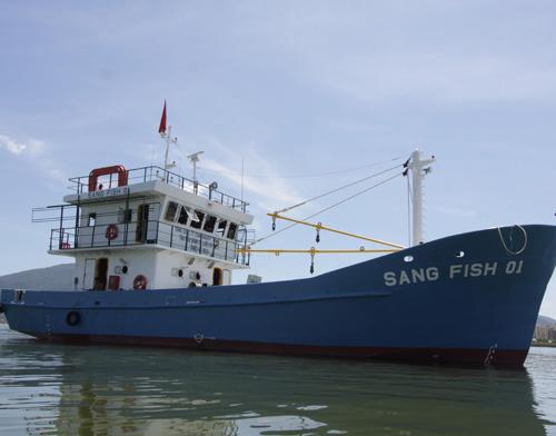 Biển đảo Việt Nam ngày 19/10/2014: Đà Nẵng: Tàu cá chuyển dần từ khai thac sang làm dịch vụ