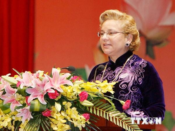 Tầm nhìn UNESCO ngày 21/6/2014:Trưởng đại diện Văn phòng UNESCO tại Việt Nam, Katherine Muller Marin với những đóng góp lớn lao cho sự nghiệp bảo tồn các di sản văn hóa Việt Nam