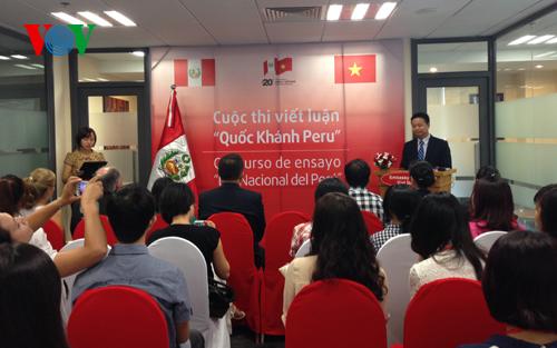 Bạn bè với Việt Nam ngày 31/7/2014: 20 năm quan hệ ngoại giao Việt Nam - Pêru