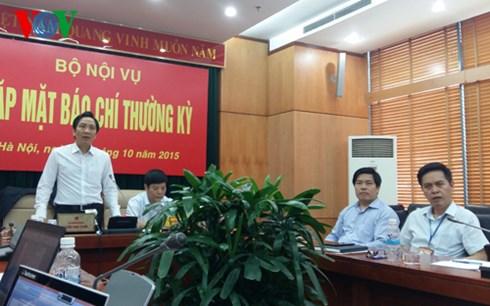 Bộ Nội vụ kết luận: Quy trình bổ nhiệm giám đốc sở Kế hoạch và Đầu tư của tỉnh Quảng Nam là đúng quy trình (Thời sự chiều ngày 18/10/2015)