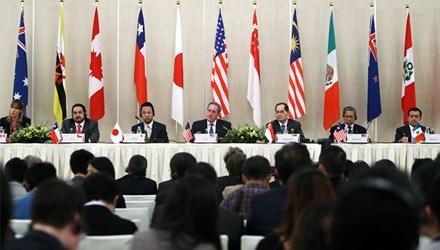 Bộ trưởng Thương mại 12 nước đã đạt được thỏa thuận cuối cùng về Hiệp định Đối tác xuyên Thái Bình Dương (TPP). (Thời sự trưa ngày 6/10/2015)